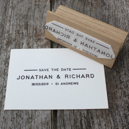 Perfect for wedding stationery and save-the-dates