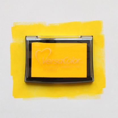 yellow versacolor ink pad