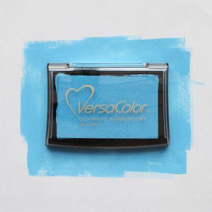 bright blue ink pad