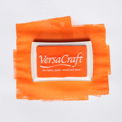 bright orange ink pad