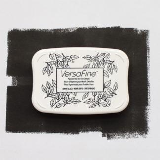 black versafine ink pad