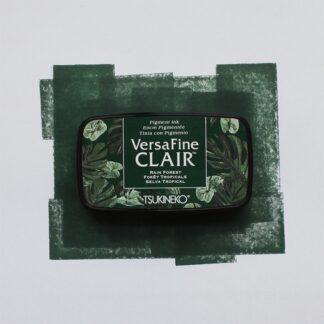 dark green ink pad