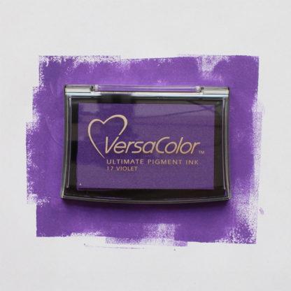 purple ink pad